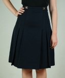 Jupe chic taille haute