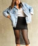 Mini jupe 90's à résille