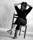 Combi-pantalon noir Viviane