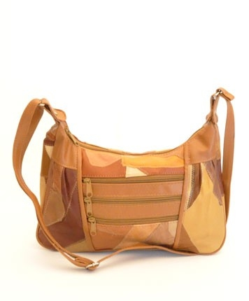 Sac marron en cuir