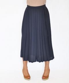 Jupe-culotte bleu marine face